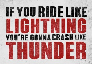 Crash Like Thunder Poster